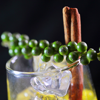 Un des cocktails préparé par Easyflair, barman jongleur à Genève